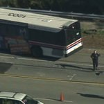 City bus, pickup truck crash in Haverhill