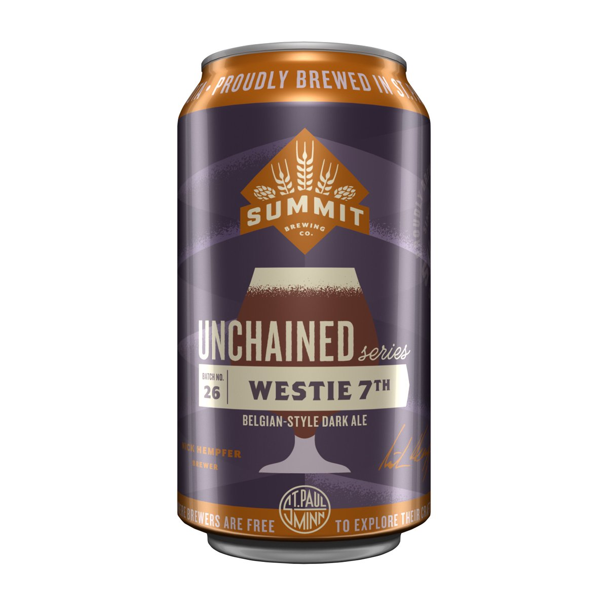 Summit Unchained 26: Westie 7th is a Belgian Dark Ale made with powerful and mysterious Belgian candi syrup. https://t.co/QDpNDfnKsA https://t.co/uJG58A2fxk