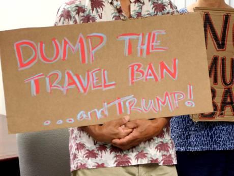 US court blocks new Trump travel ban