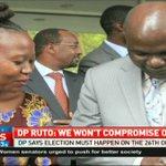 DP Ruto says election must happen in October