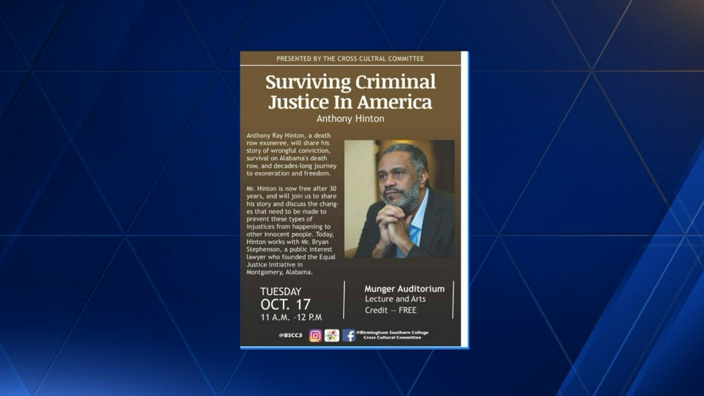 Birmingham Southern College holds lecture 'Surviving Criminal Justice in America'