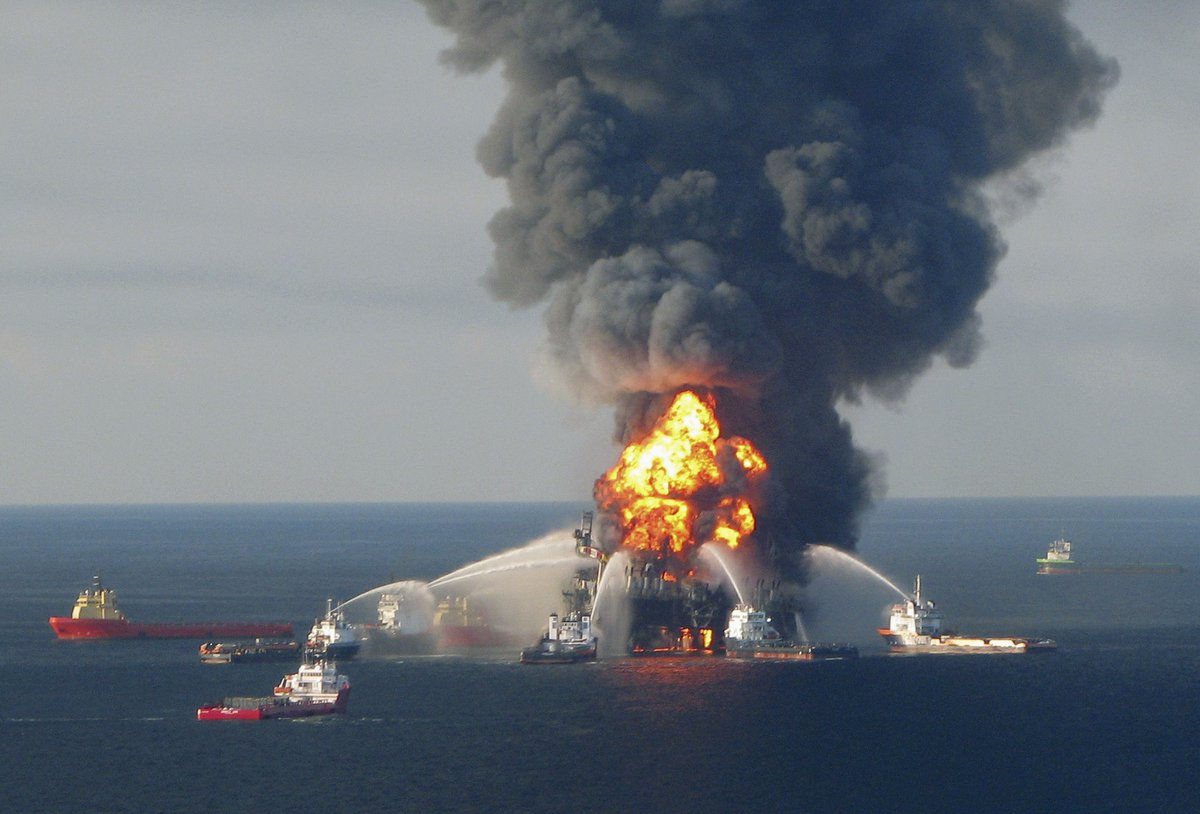 Oil spill in Gulf of Mexico may be biggest since 2010 Deepwater Horizon disaster