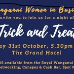 Business networking event offering up tricks and treats