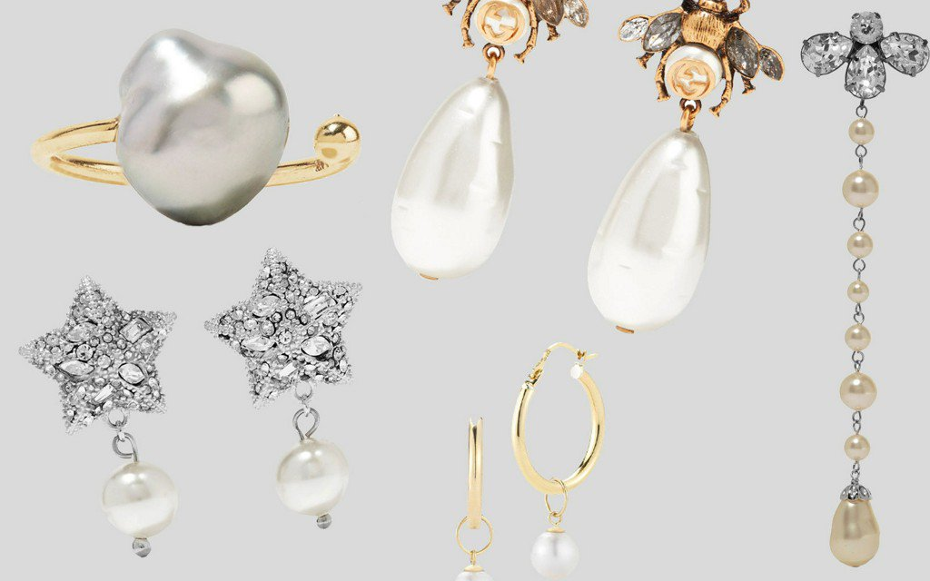 10 Cool New Takes on the Classic Pearl Earring