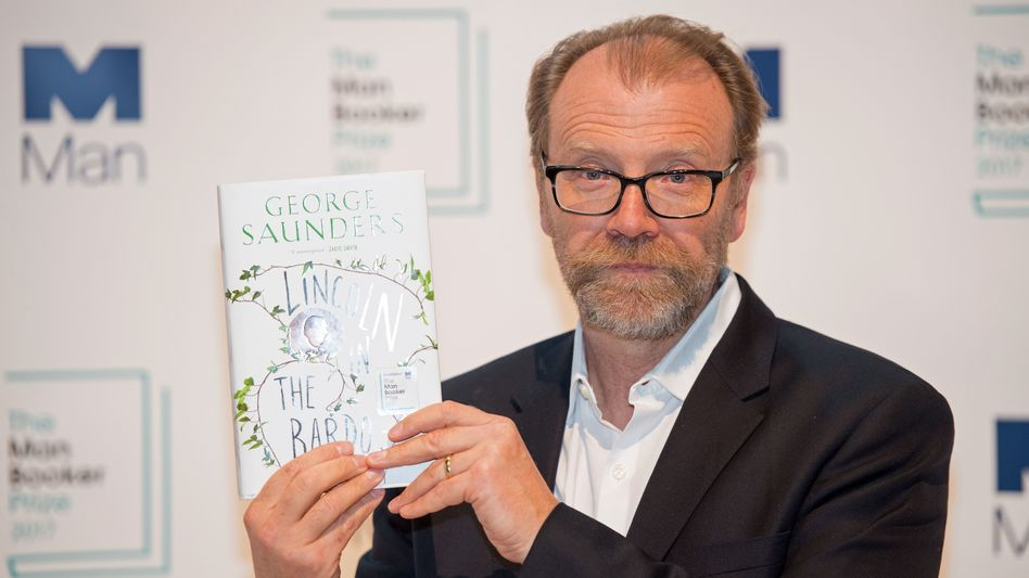 George Saunders wins Man Booker prize for 'Lincoln in the Bardo'