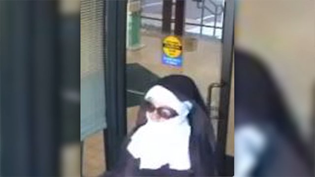 2 suspected in Pennsylvania bank heist while dressed as nuns