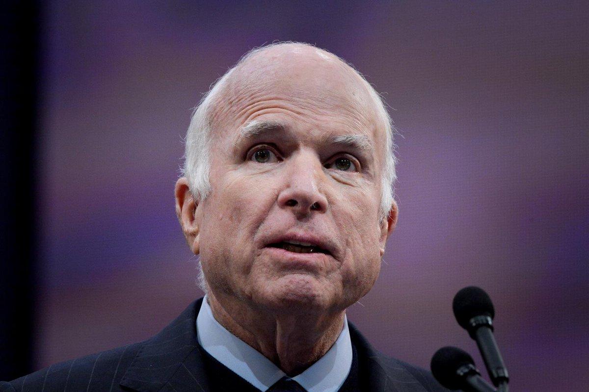 "John McCain takes on the ""half-baked"" nationalism of Trump's presidency"