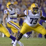 With another new guy aboard, LSU's O-line searching for balance with a running game that's skewed outside