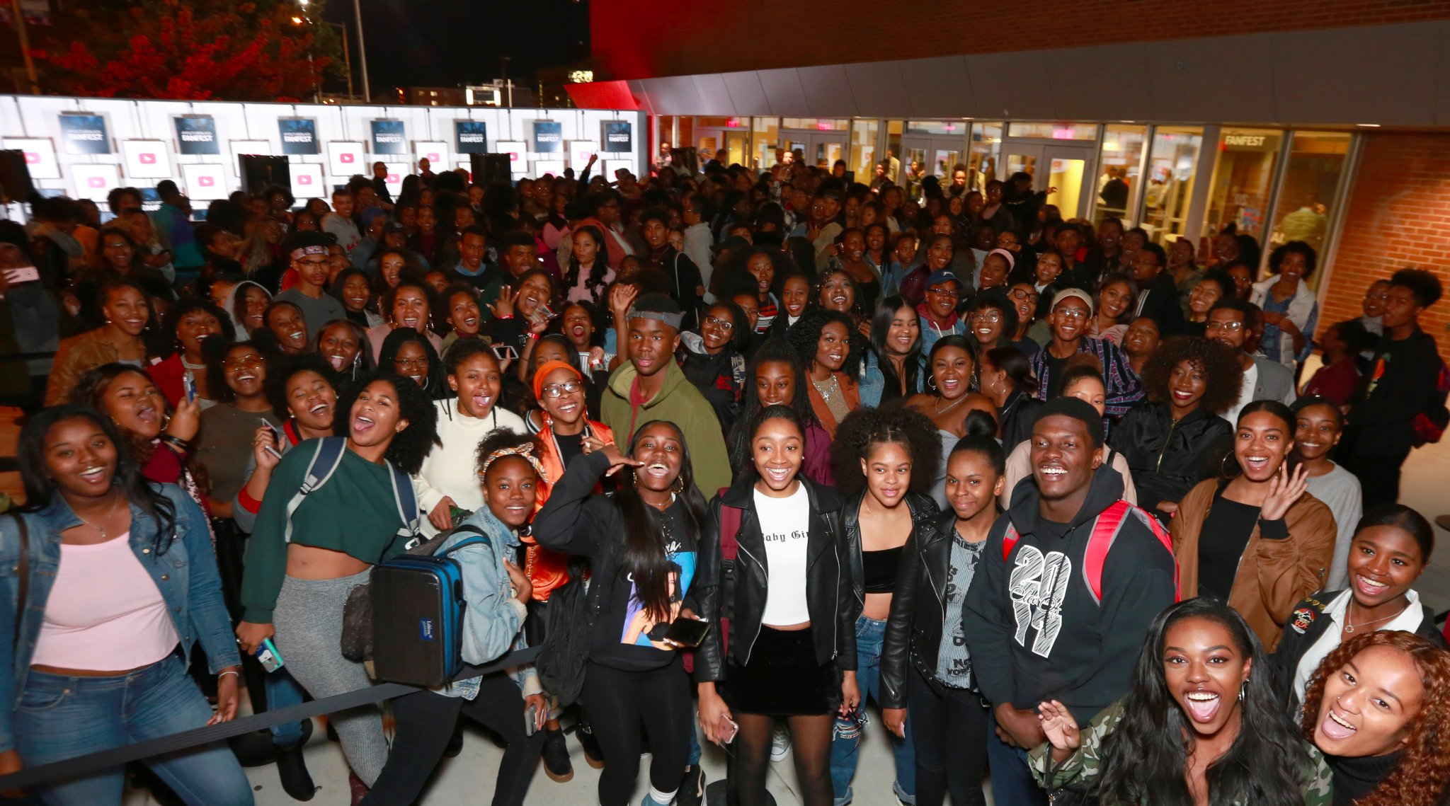 It's about to go down!  Check out #YouTubeBlack FanFest �� LIVE by clicking ➡️ https://t.co/78OaPZT5Ff #HowardUNow https://t.co/G2svwjCaJm