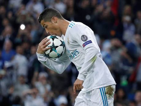 Ronaldo hits penalty but Real held by Spurs in Champions League