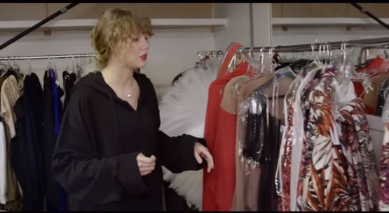 Here's your chance to enter Taylor Swift's closet. Are you ready for it?