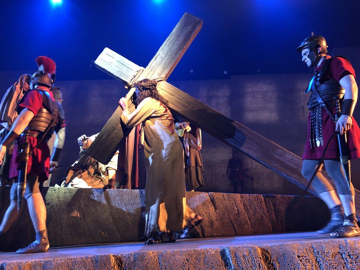 #JesusleSpectacle