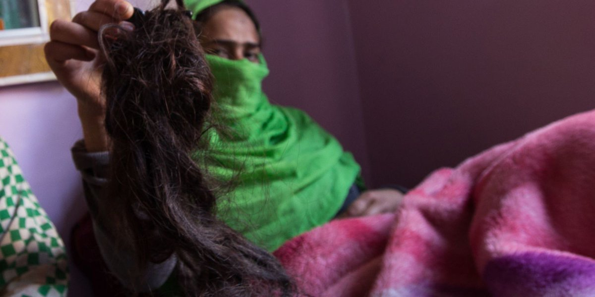 Mysterious 'braid-choppers' are drugging women and cutting off their hair in India