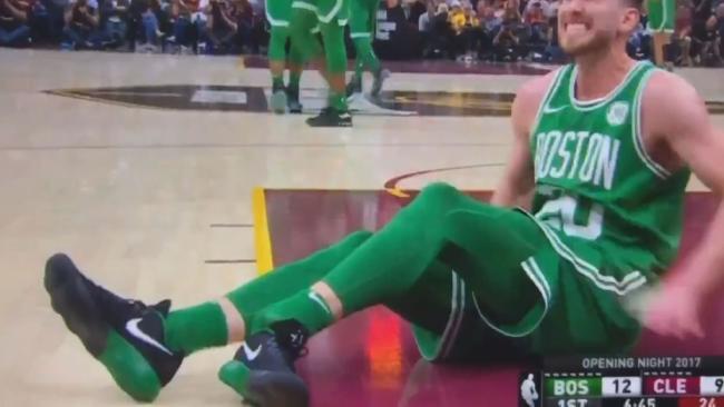 Horrific Gordon Hayward injury in NBA season opener