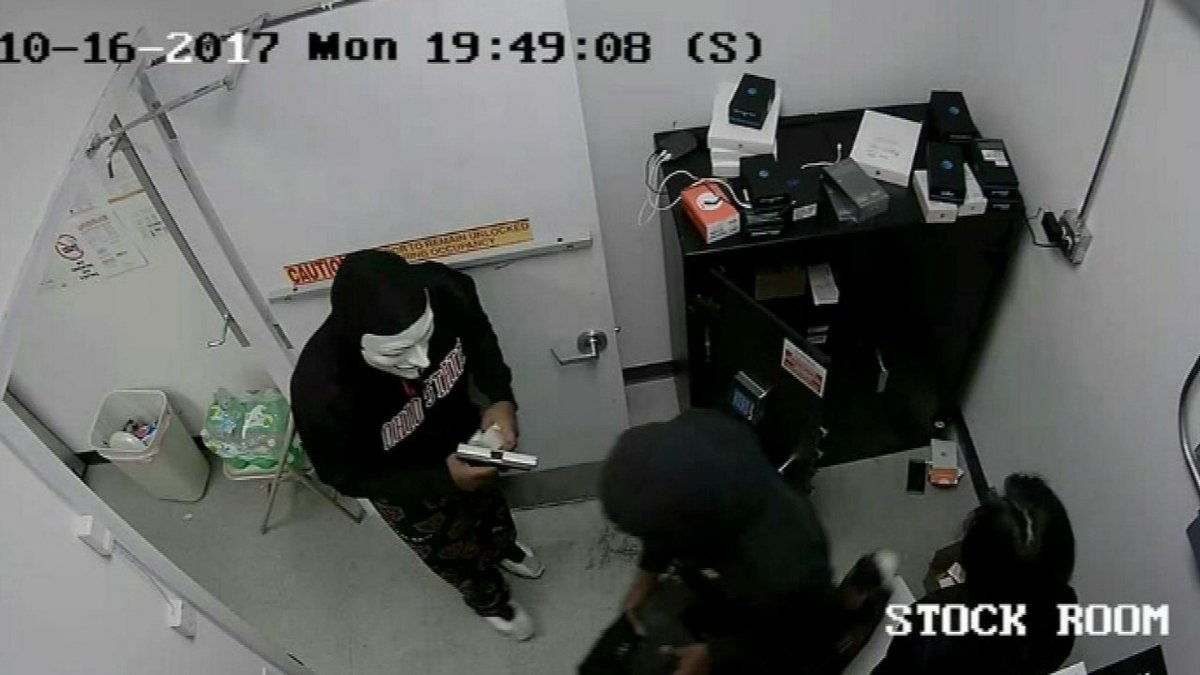West Chicago police search for masked armed robbery suspects