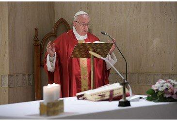 Pope Francis at Santa Marta: on the folly of hard-hearted Christians