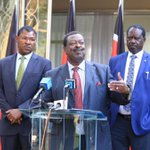 Raila denies interest in coalition government as Meru rally cancelled over chaos