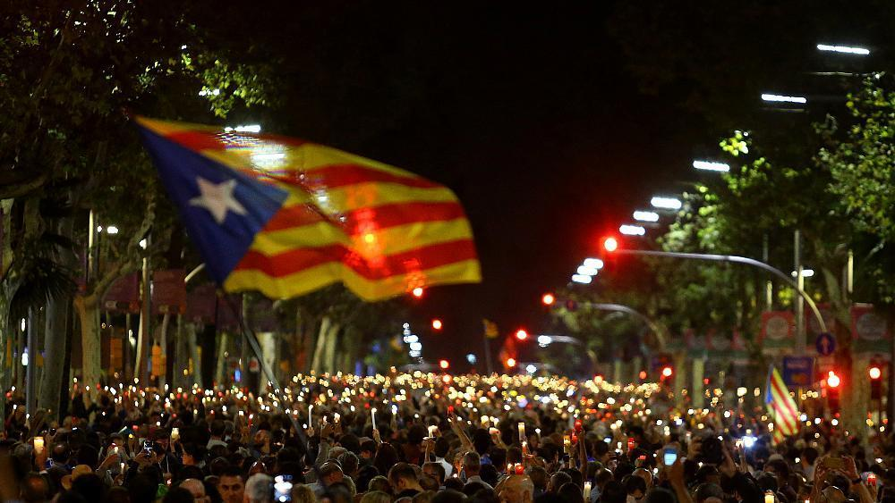 Catalans accuse Madrid of taking 'political prisoners'