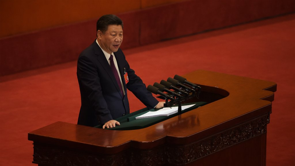 China's Xi opens Communist Party congress with eye on extending power