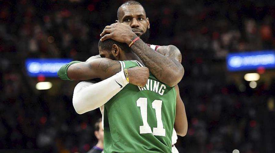 NBA. LeBron James crucifie les Celtics de Irving à lui tout seul