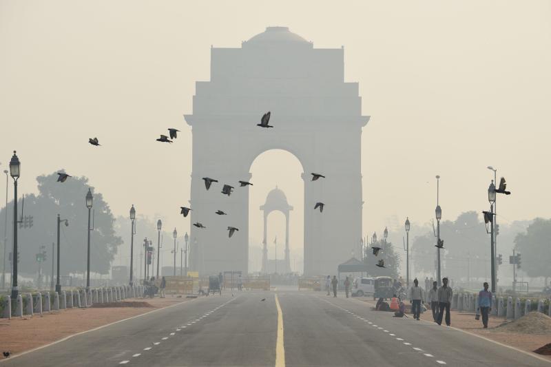 New Delhi shuts power plant in fight against Diwali smog