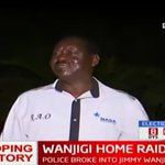 NASA leader Raila Odinga at residence of Jimi Wanjigi in Muthaiga, Nairobi (Video)