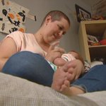 Mother Fighting Breast Cancer Gets Help FeedingNewborn