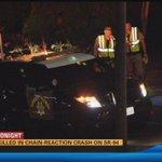 Man killed in chain-reaction crash on SR-94