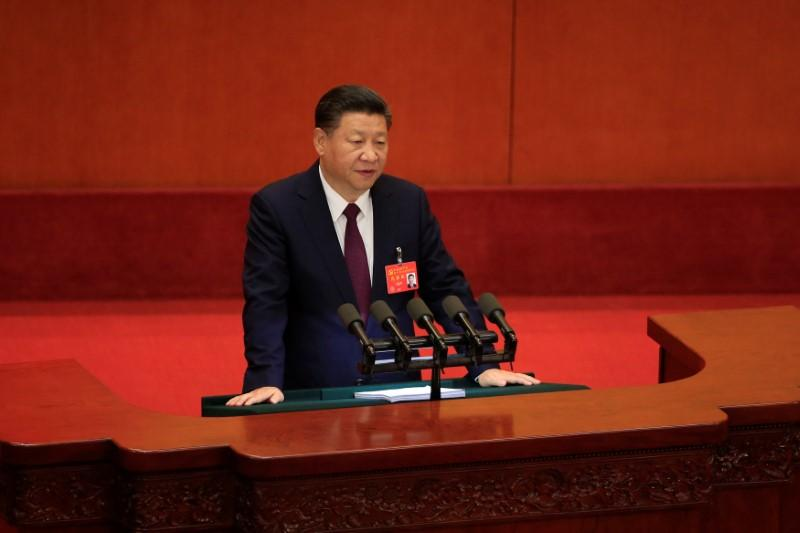 China's President Xi says will continue years-long war on smog