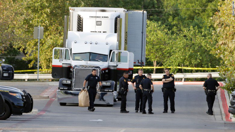 Truck driver pleads guilty to charges connected to immigrant