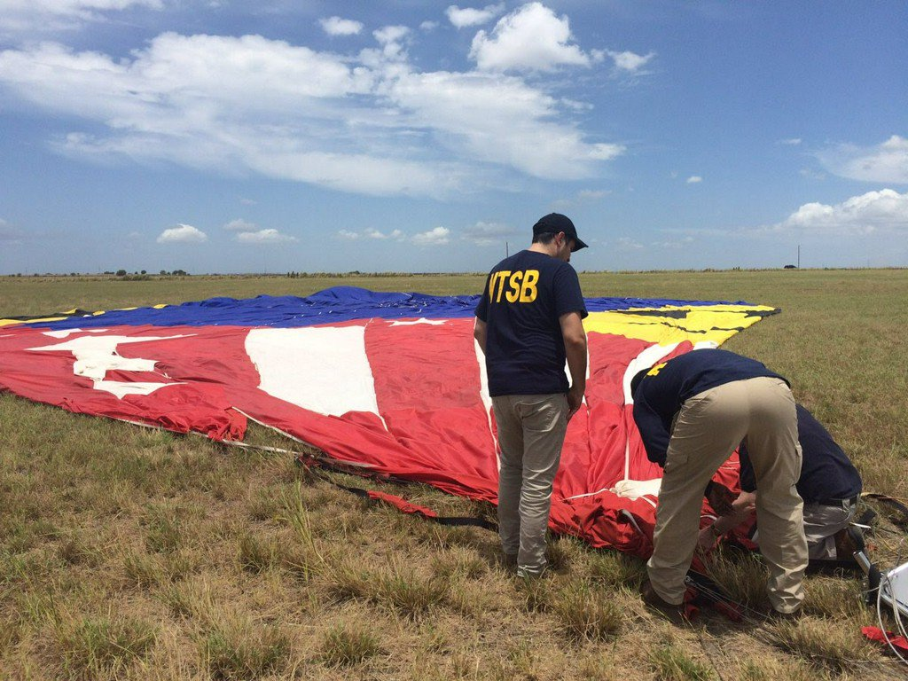 NTSB says Benadryl impaired hot air balloon operator in deadly crash