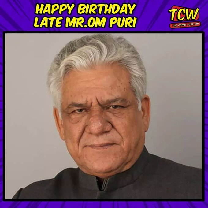 Happy Birthday, Om Puri ji.