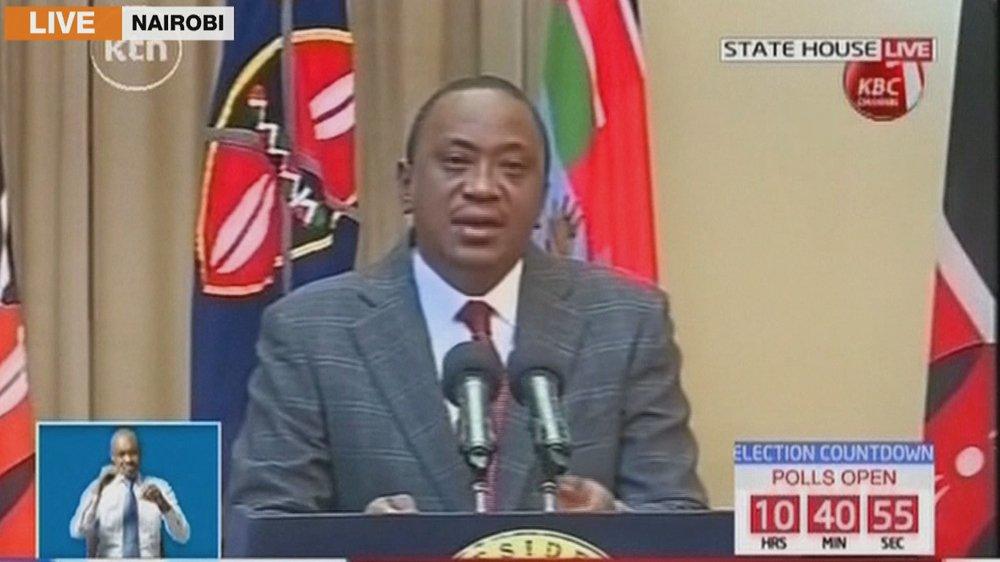 Live: Kenya's President urges unity ahead of re-run of presidential polls