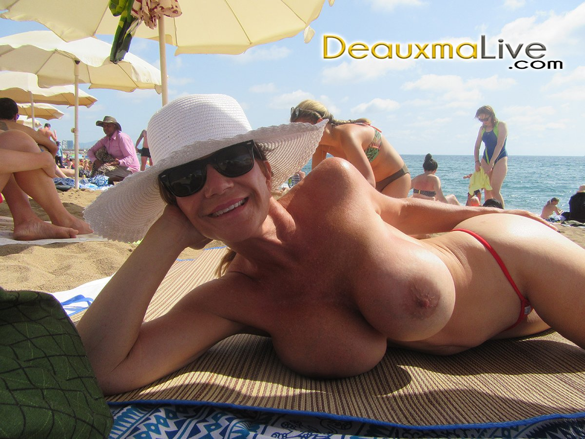 Here is a shot from my vacation to Barcelona Spain. Only one topless on the beach. 1xEI