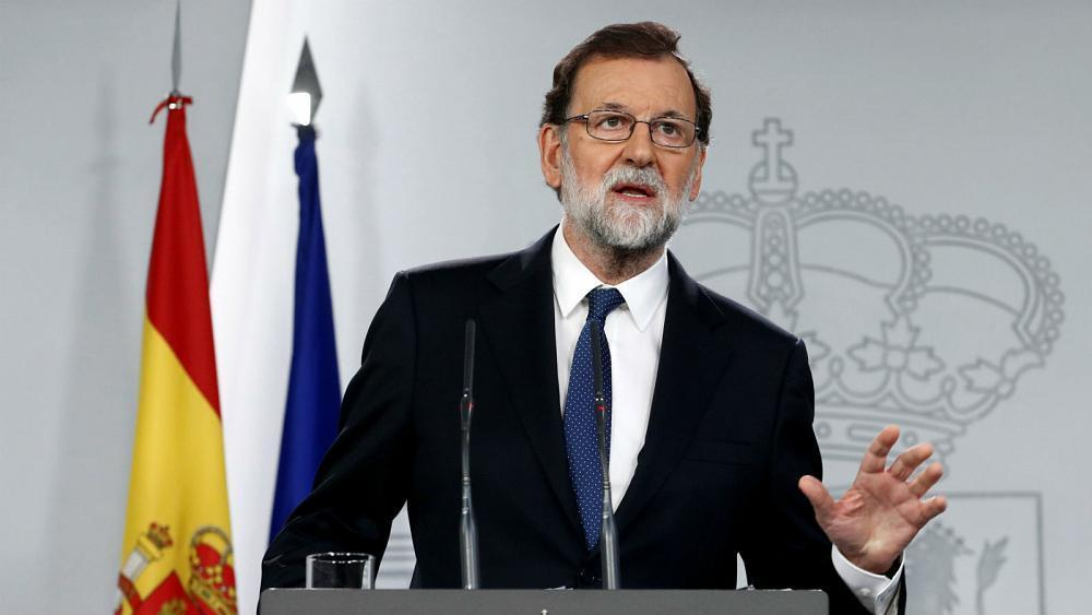 """Spanish government wants to restore """"normality and legality"""" in Catalonia"""