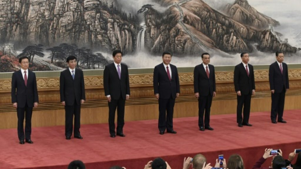 China's new leadership: Ageing men seen as no threat to Xi