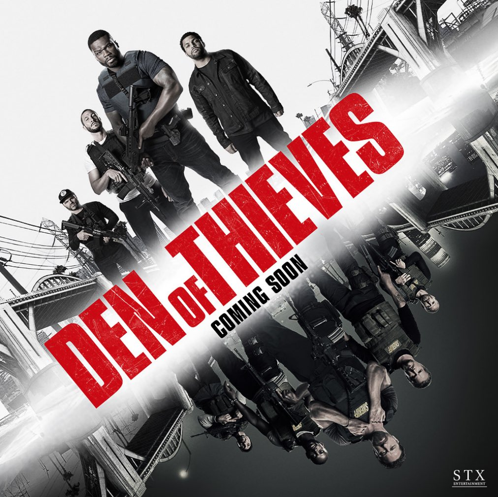 Check out the official trailer for #DenofThieves - In Theaters January 19, 2018 ????????????   https://t.co/3t6fF6X973 https://t.co/p6qYfXNQGw
