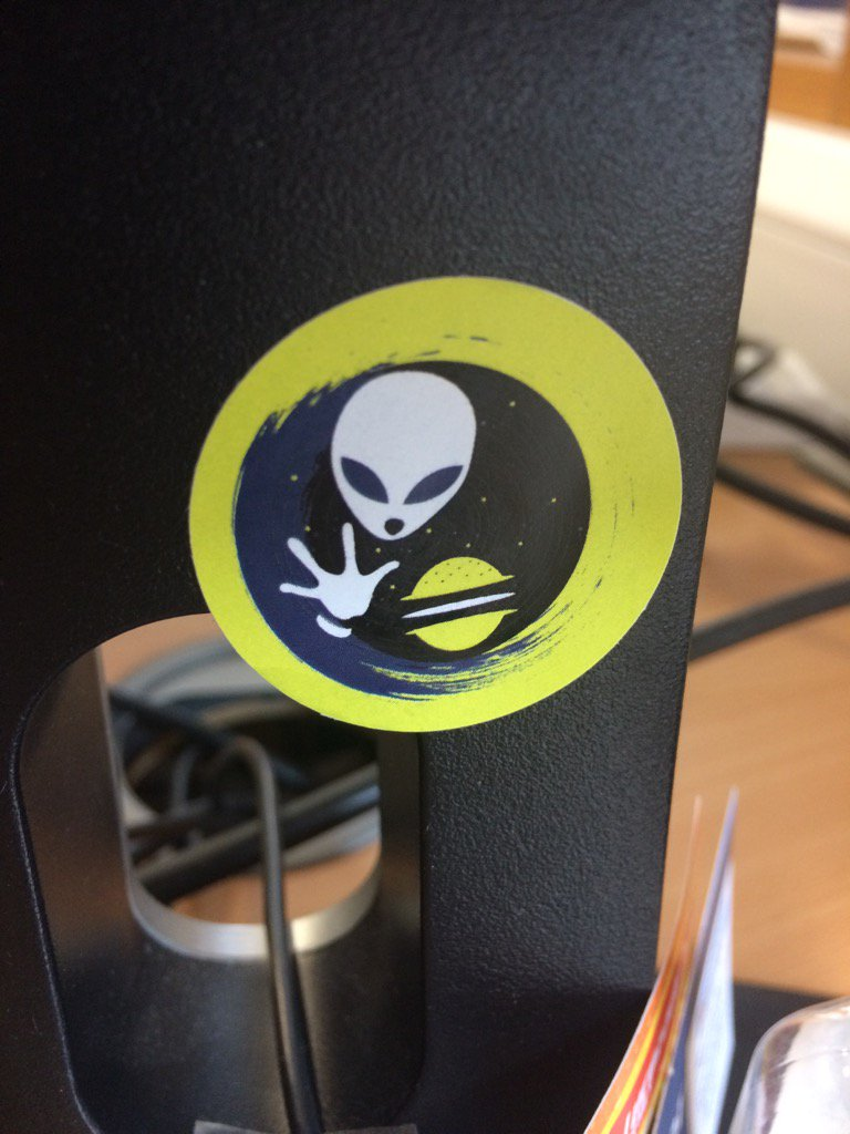 Keeping my sticker from @Universe_Cafe on my desk, so when I don't know what to eat, inspiration will be at hand! https://t.co/FgJXsc4CdI