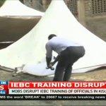 Mobs disrupt IEBC training of officials in Kisumu, Vihiga