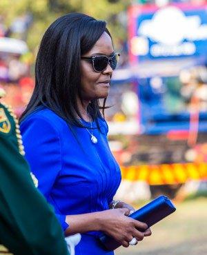 Million-dollar ring saga: Zim First Lady Grace Mugabe goes to court