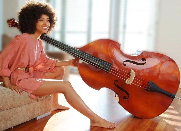 "HAPPY BIRTHDAY... ESPERANZA SPALDING! ""BLACK GOLD\""."