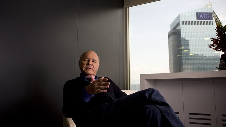 'Dr. Doom' Marc Faber faces media ban for thanking God white people populated America