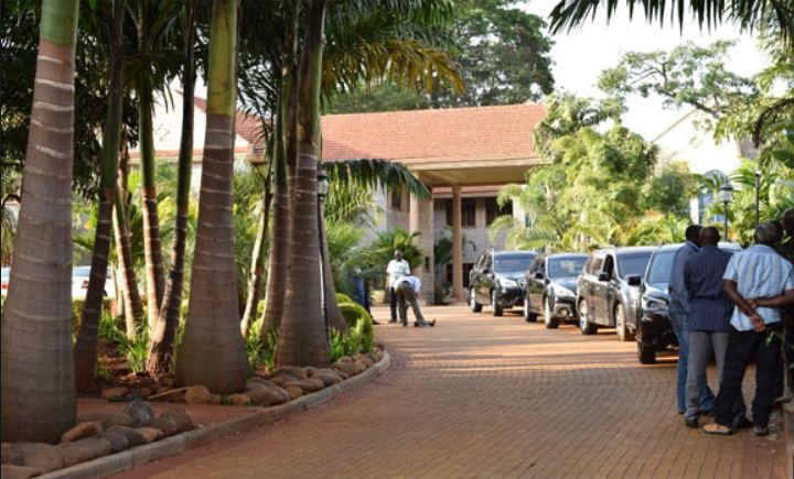 Police Leave Wanjigi's House