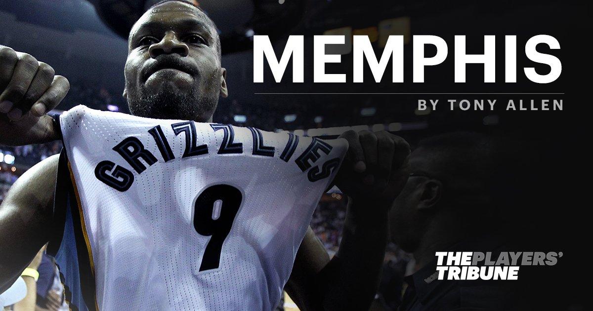 RT @PlayersTribune: A letter to Memphis, from Tony Allen: https://t.co/UDFx0w2SyM https://t.co/cNLOyOagGP