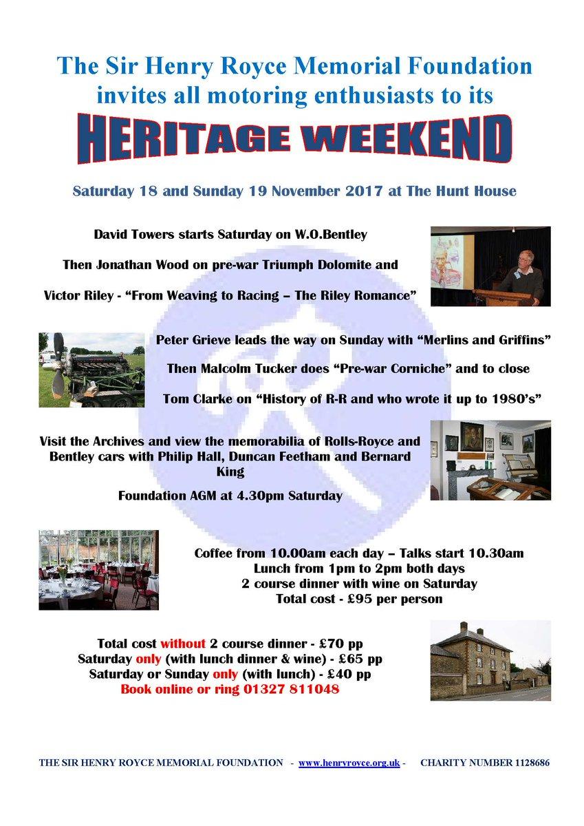 test Twitter Media - #Heritage #Weekend November 18-19 : https://t.co/i3CufPXHwb https://t.co/cBLvE0t35q