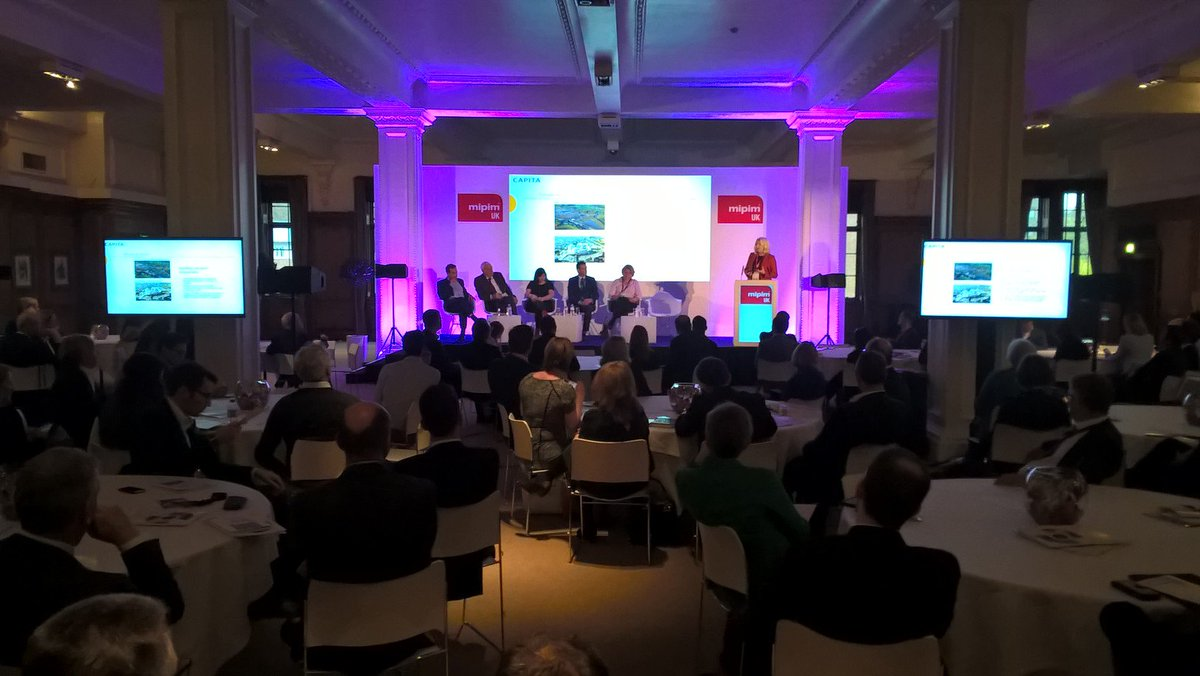 RT @CapitaProperty: .@Deborah_McL 'are you ready for growth' #MIPIMUK @MIPIMWorld @GL_Hearn https://t.co/OGO3M8QQqa https://t.co/Vsyt4DQpdm