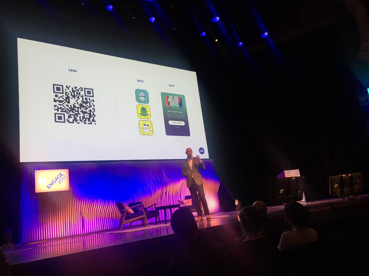 IAB's james chandler forgiving the trail blazers who made the next big thing possible. #IABEngage https://t.co/bYt4gVu19v