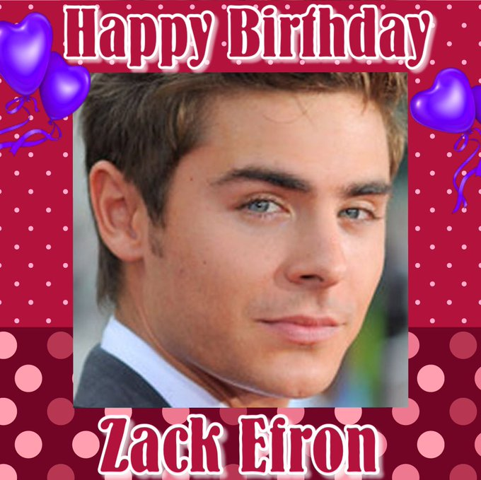 Happy Birthday Zac Efron, Jean-Claude Van Damme, Mark Sampson, Sarah Winckless, Charles Stross & Timmy Mallet