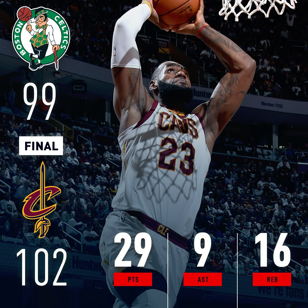 The @cavs & @HoustonRockets each open up the season with thrilling wins! #KiaTipOff17 https://t.co/LgHT82pobZ