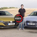 How Does The VW Arteon Fare Against The Audi A5 Sportback?